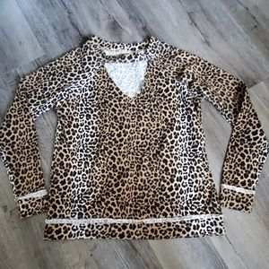 True Craft Cheetah Print Sweater